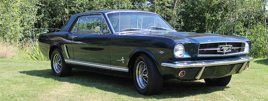 1965 Mustang coupe SOLD